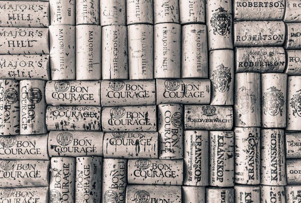 abstracto textura tapones corcho wallpaper