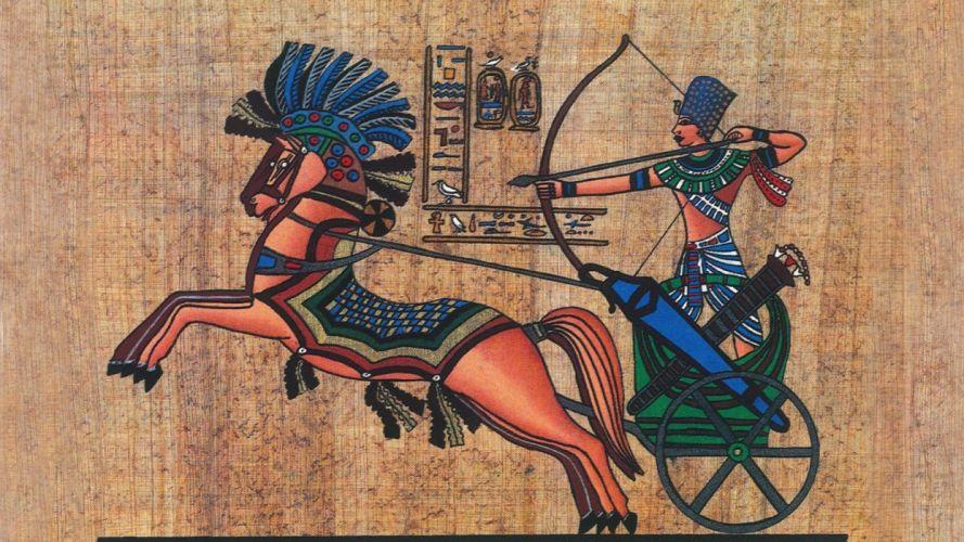abstracto textura antiguo egipto carro caballo wallpaper