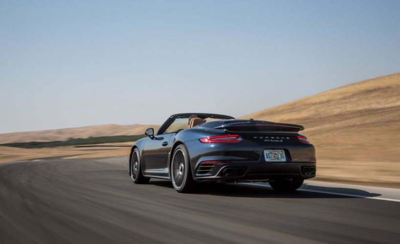 2016 Porsche 911 Turbo S Cabriolet cars (991) wallpaper