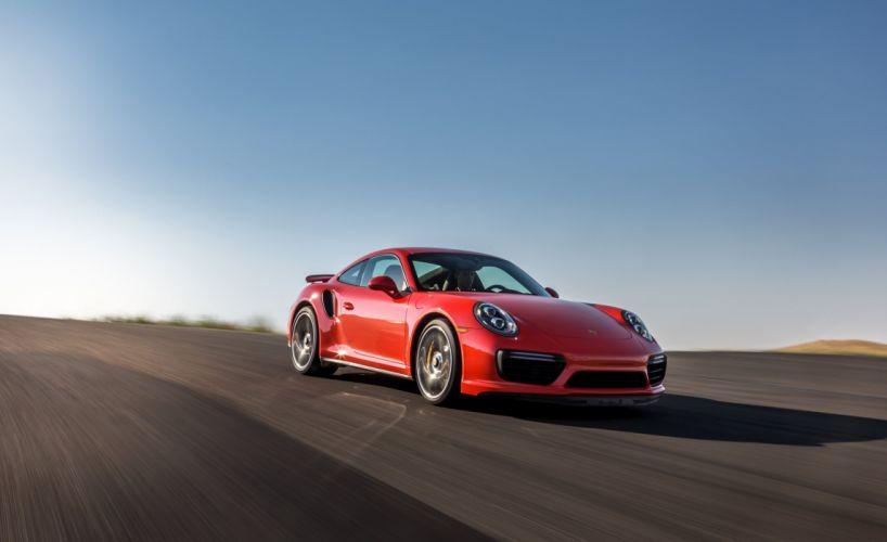 2016 Porsche 911 Turbo S Coupe cars (991) wallpaper