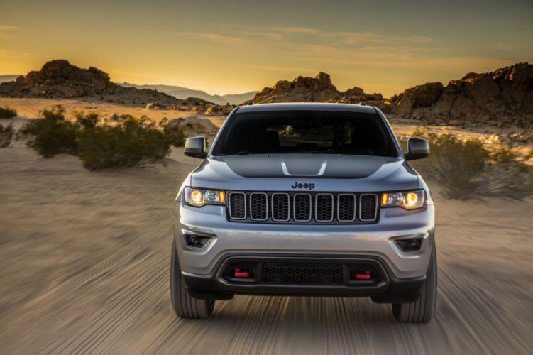 Jeep Grand Cherokee Trailhawk cars 4x4 2016 wallpaper