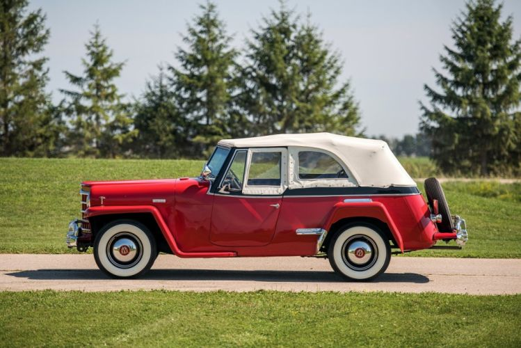 Willys Overland Jeepster Phaeton cars 1950 wallpaper