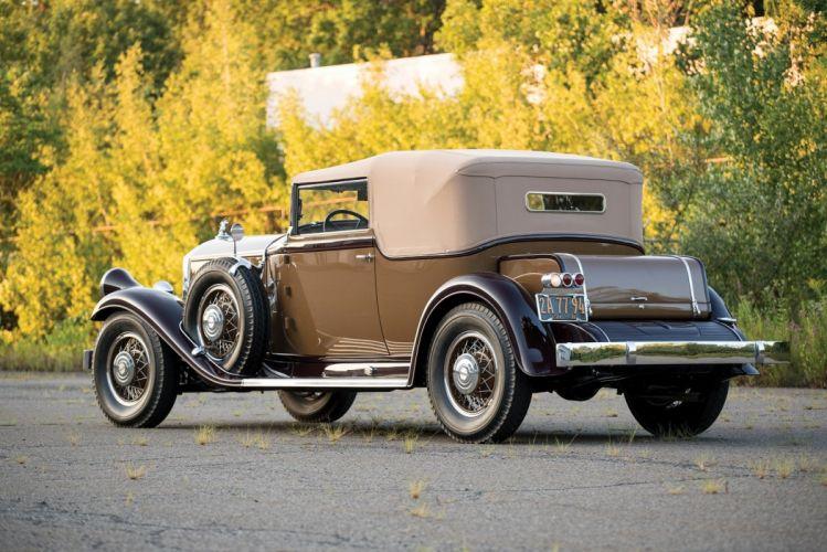 1931 Pierce-Arrow Model 41 Convertible Victoria LeBaron cars classic wallpaper