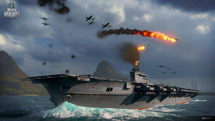 WORLD Of WARSHIPS game war military video wwll battleship ship boat warship action fighting shooter simulation online mmo strategy 1wwar battle wallpaper