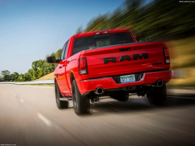 Ram 1500 Night Package cars pickup 2016 wallpaper