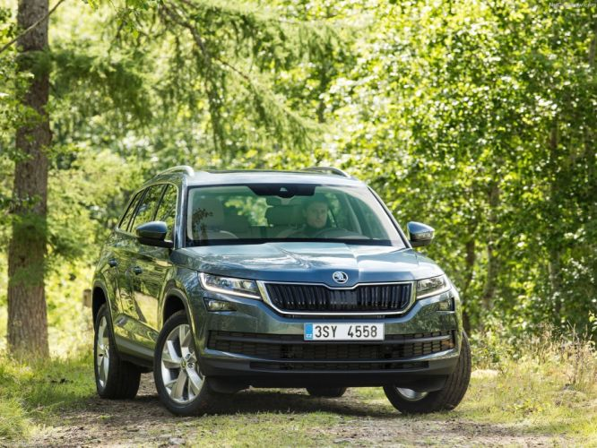 Skoda Kodiaq cars suv 4x4 cars 2016 wallpaper