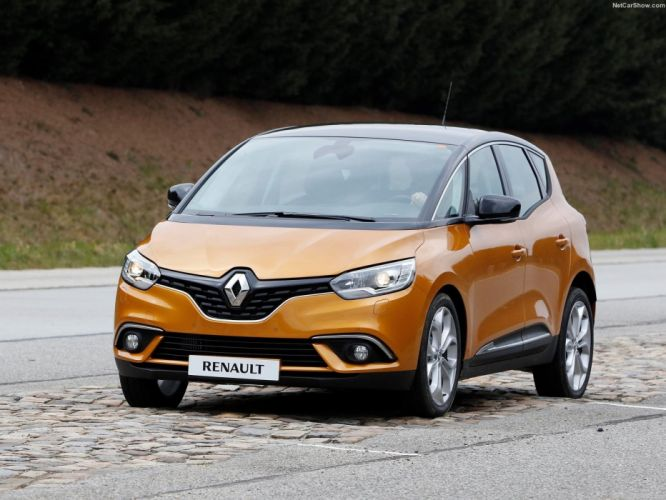 2016 cars renault scenic french wallpaper