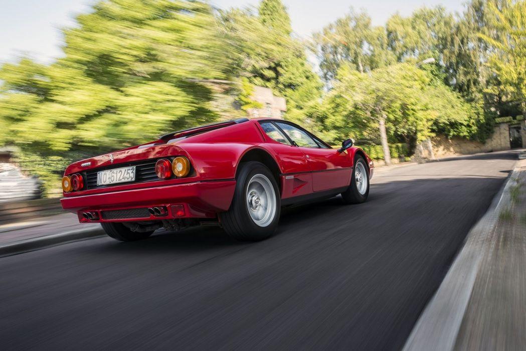 Ferrari 512 BBi cars coupe red 1981 wallpaper