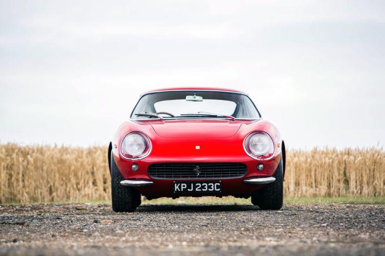 Ferrari 275 GTB (3C) UK-spec cars coupe red classic 1964 wallpaper