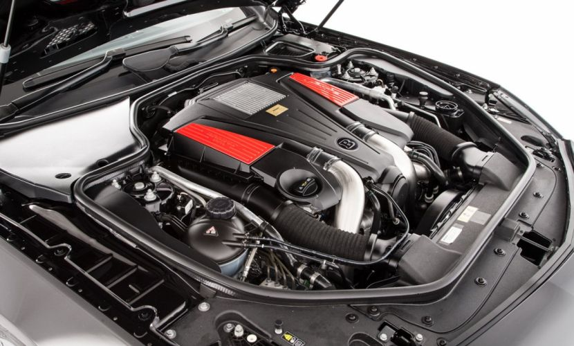 Brabus B50 mercedes UK-spec (R231) cars modified black roadster 2012 wallpaper