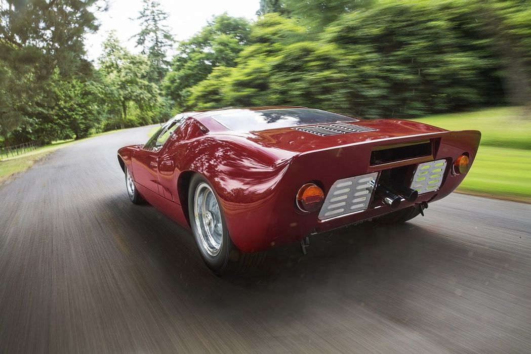 Ford GT40 cars 1966 red classic wallpaper