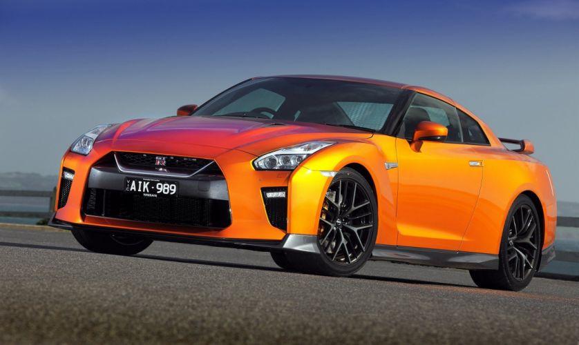 Nissan GT-R godzilla AU-spec (R35)cars orange 2016 wallpaper