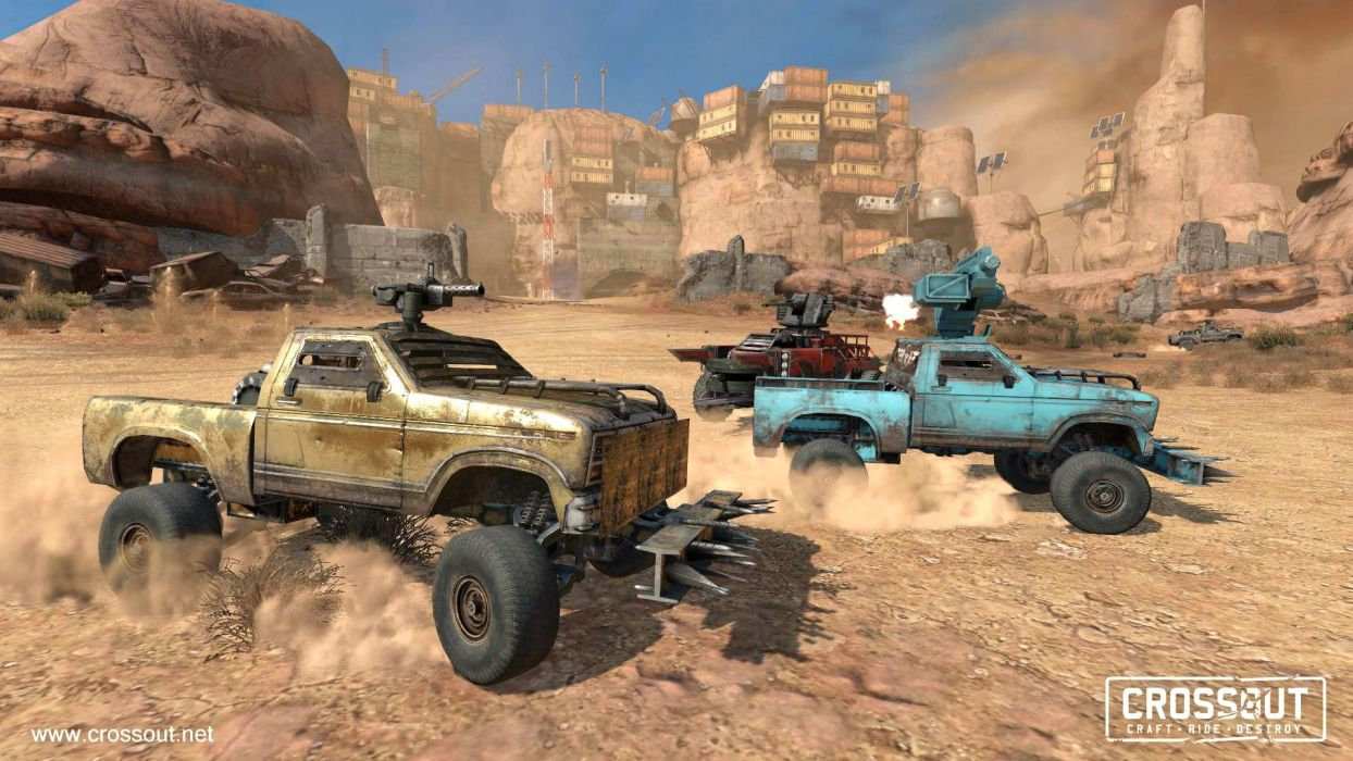 Crossout Game Sci Fi Technics Science Fiction Futuristic Apocalyptic Post Mmo Online Action Fighting 4x4 Offroad Race Racing Cyberpunk Battle Combat Alien Military Battle War Wallpaper 1920x1080 1014947 Wallpaperup