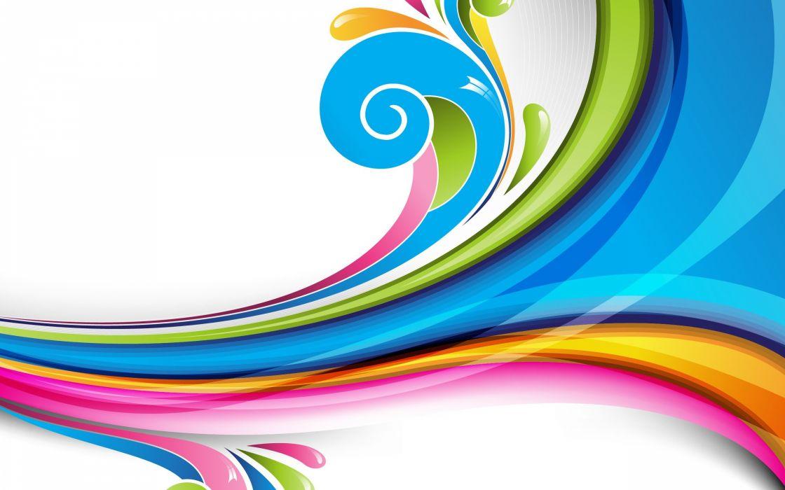abstracto vector colofull wallpaper