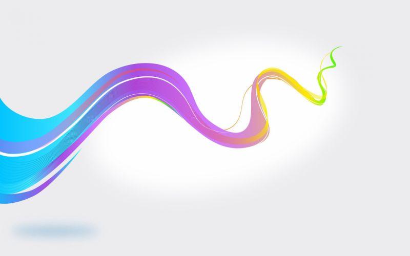 abstracto vector trazo colores wallpaper