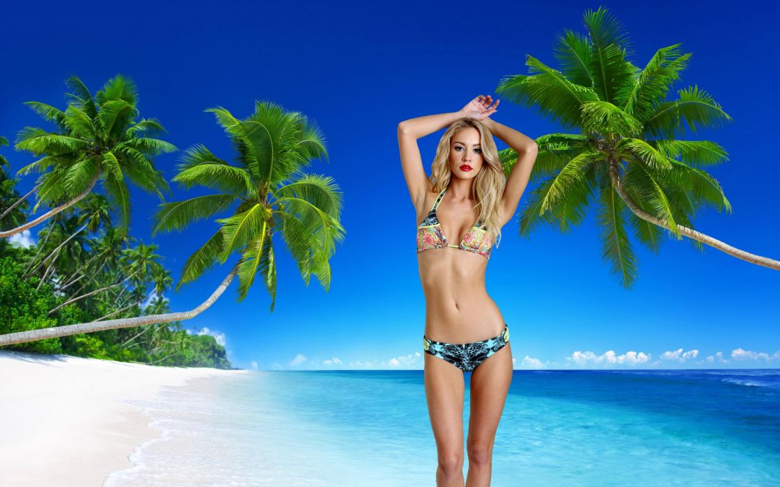 Bikini Model ~ Bryana Holly wallpaper