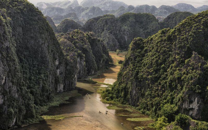 Vietnam near full amazing beauty landscape wallpaper