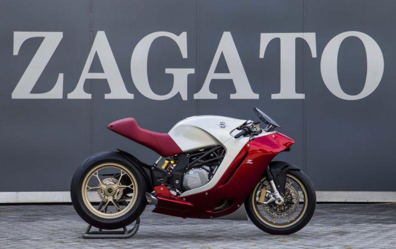 MV Agusta F4Z zagato bike motorcycles 2016 wallpaper