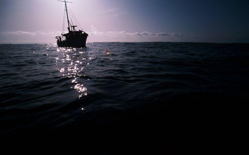 sea landscape water sky swimming boat wallpaper