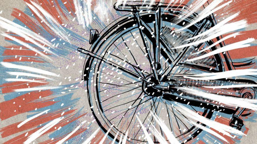 abstracto rueda trasera bicicleta wallpaper