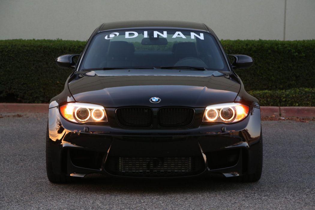 Dinan S3 R Bmw 1 Series M Coupe E82 Cars Black Modified 2014 Wallpaper 1800x1200 1015673 Wallpaperup