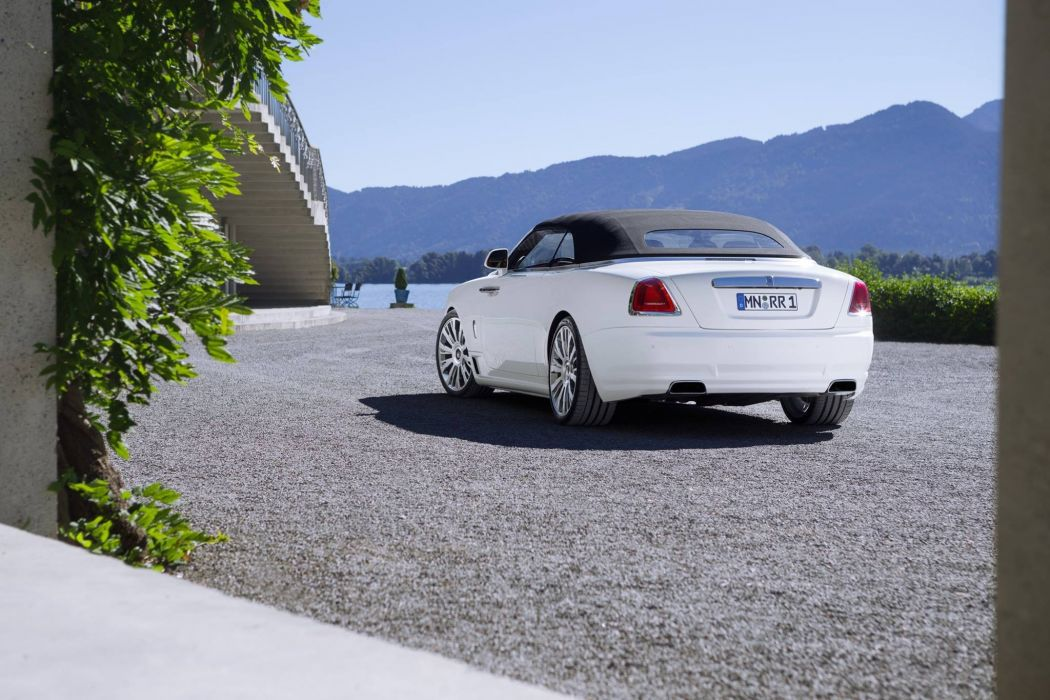 Novitec Spofec Rolls-Royce Dawn white luxury cars modified 2016 wallpaper