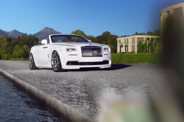 Novitec Spofec Rolls-Royce Dawn white luxury cars modified 2016 wallpaper