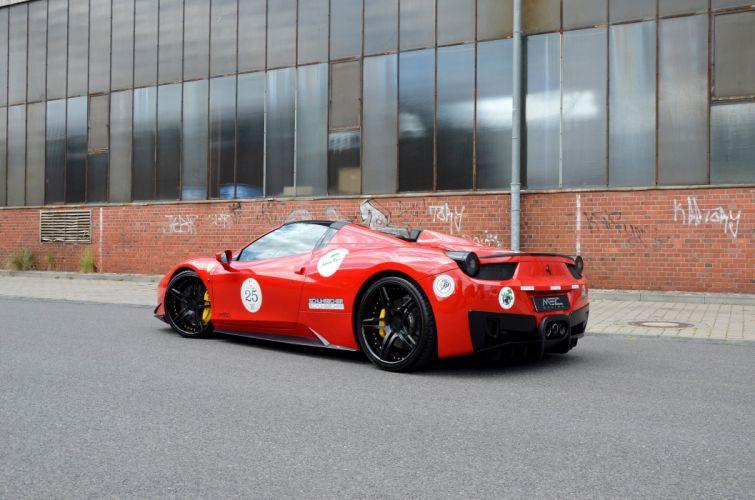 2016 MEC DESIGN FERRARI 488 SPIDER cars modified wallpaper