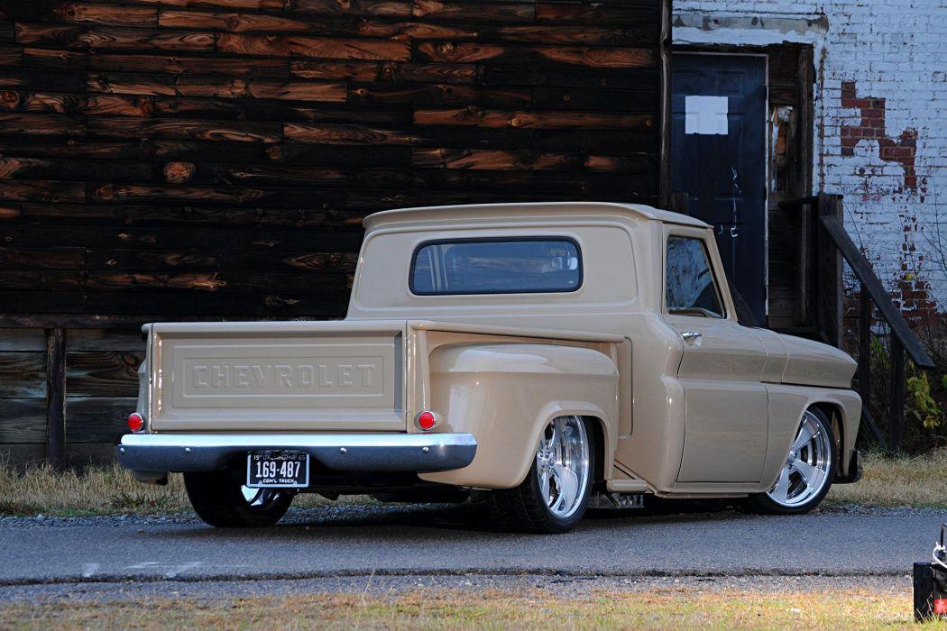 1965 Chevrolet C10 cars truck pickup wallpaper