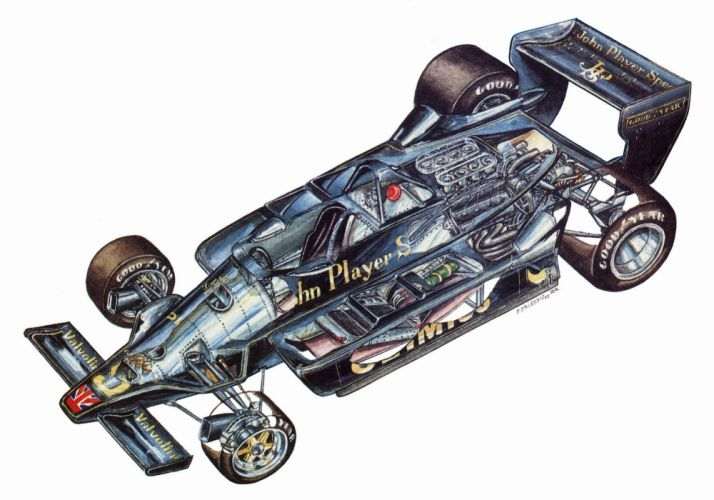 Lotus 79 1978 1979 cars formula one cutaway wallpaper