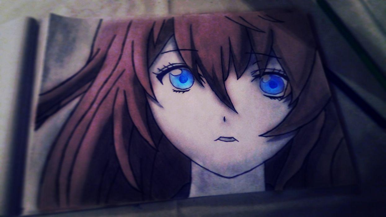 Draw girl nano nevereverland anime wallpaper