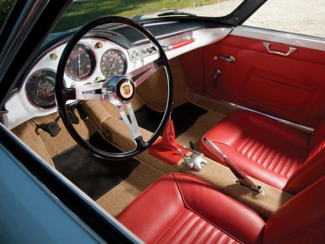 ABARTH 850 Coupe Scorpione coupe cars 1959 wallpaper