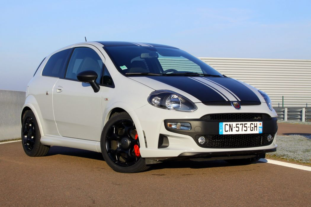 ABARTH PUNTO EVO Supersport coupe cars 2012 wallpaper