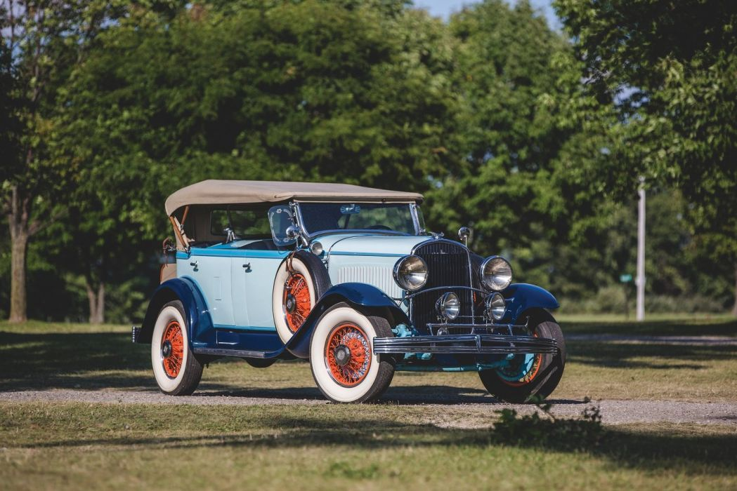 1929 Chrysler Series 75 Tonneau Phaeton cars retro wallpaper