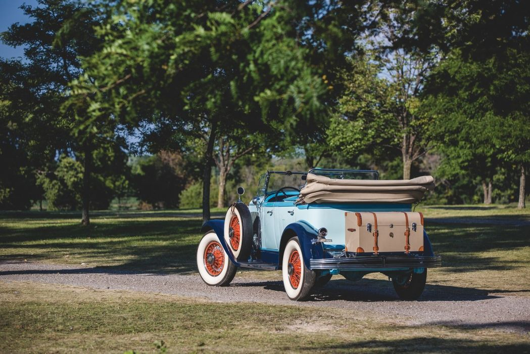 1929 Chrysler Series 75 Tonneau Phaeton cars retro wallpaper