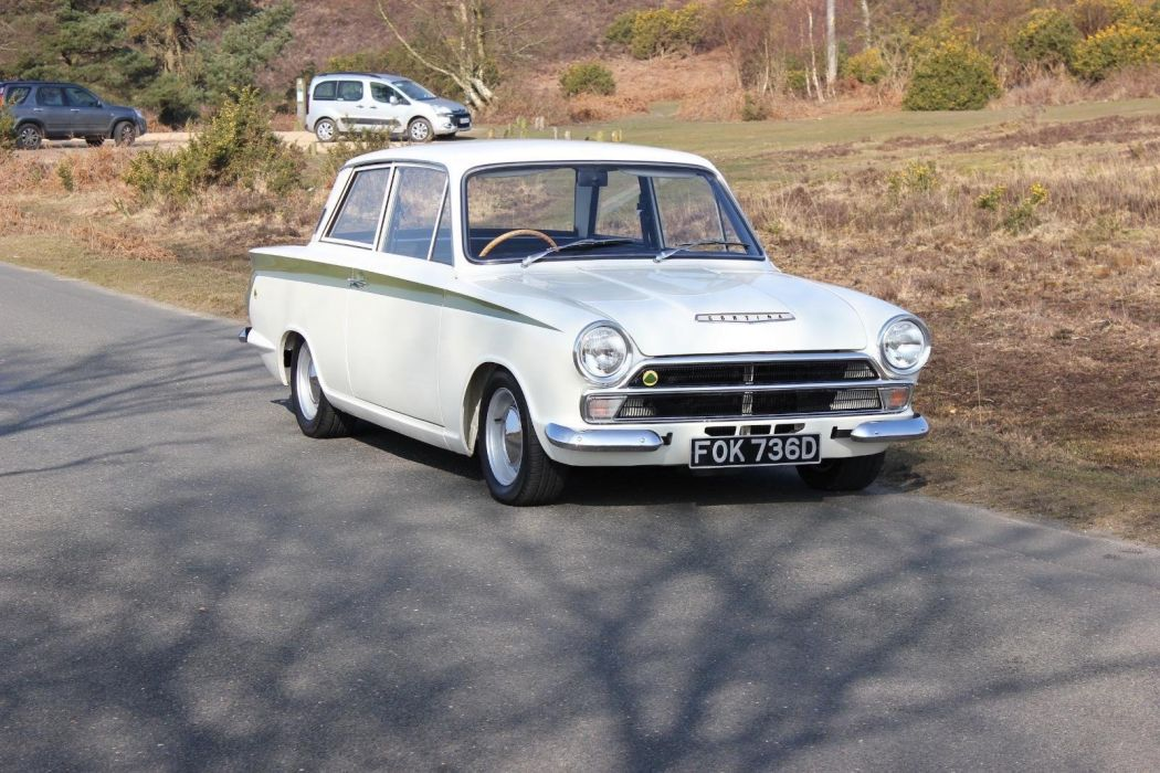 1966 Ford Lotus Cortina Mk1 cars classic wallpaper