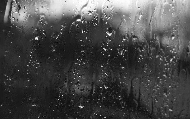 drops glass rain wallpaper