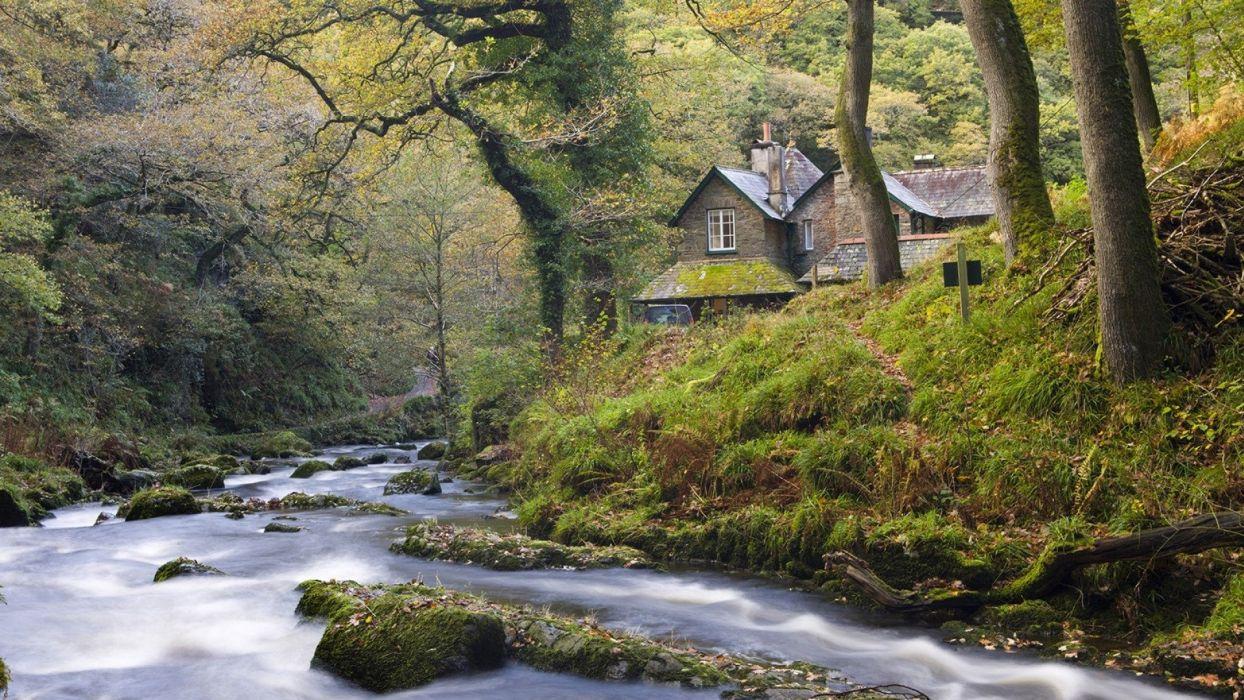 Exmoor National Park England wallpaper