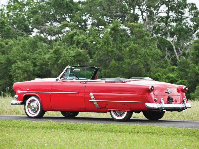 1953 Ford Crestline Sunliner Convertible cars classic wallpaper