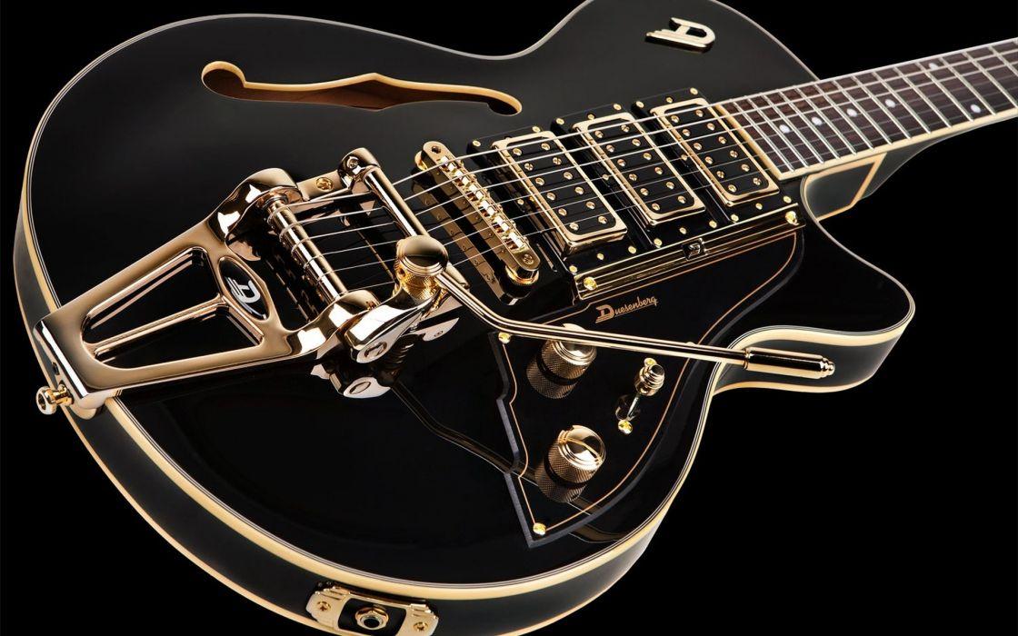 Duesenberg Guitar Black Wallpaper 1920x1200 1016601 Wallpaperup