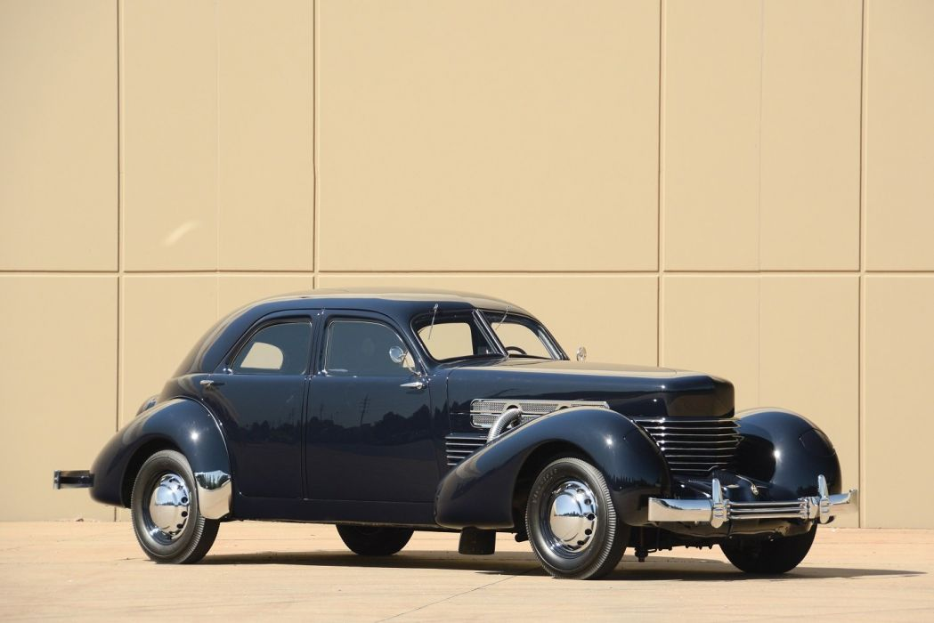 1937 Cord 812 Custom Beverly Sedan Bustlback cars classic wallpaper