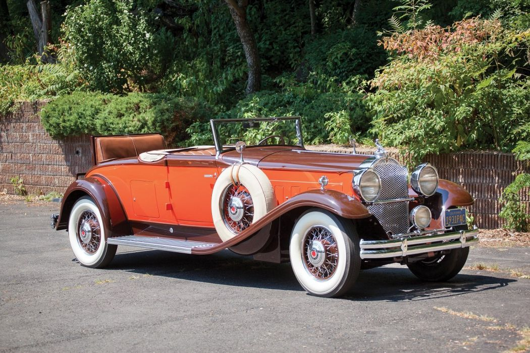1931 Packard Deluxe Eight Convertible Coupe LeBaron cars classic wallpaper