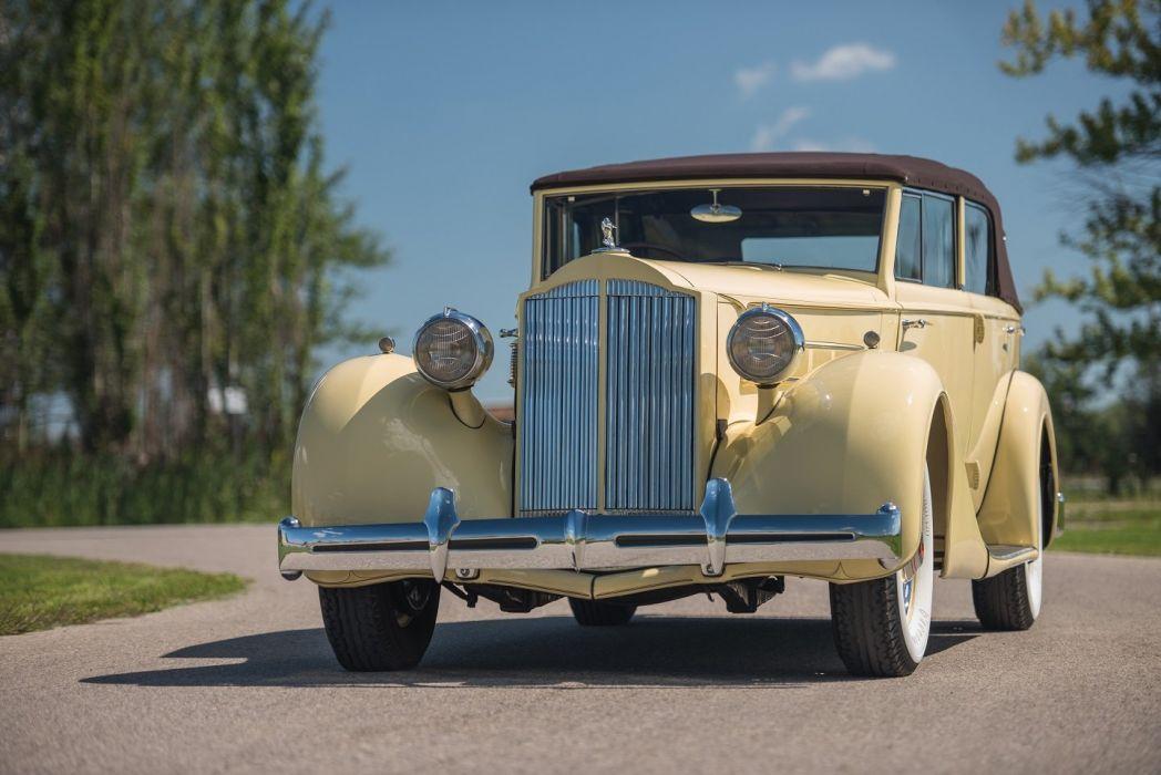 1935 Packard Eight Convertible Sedan RHD cars classic wallpaper