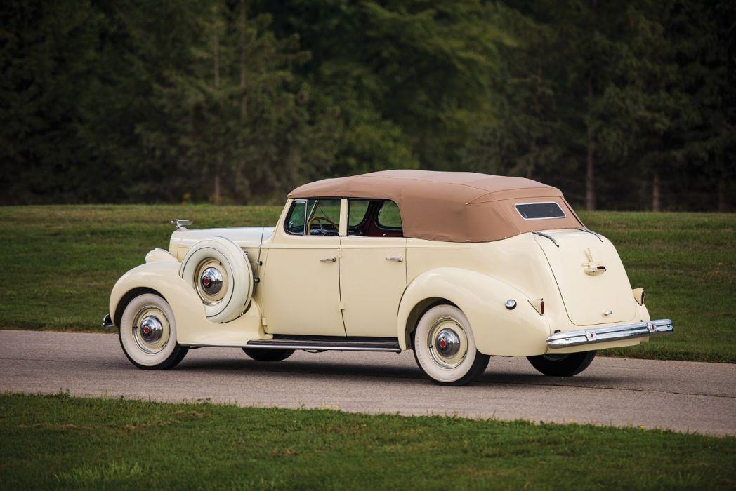 1938 Packard Eight Convertible Sedan cars classic wallpaper