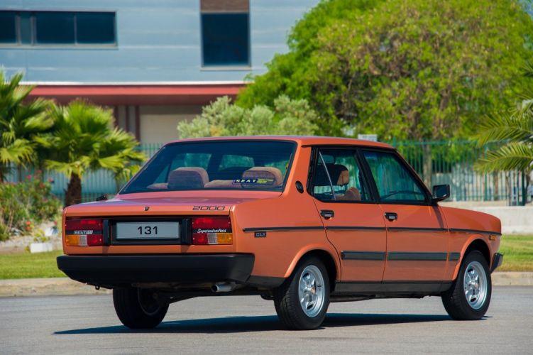 SEAT 131 Supermirafiori CLX 2000 cars sedan 1980 wallpaper