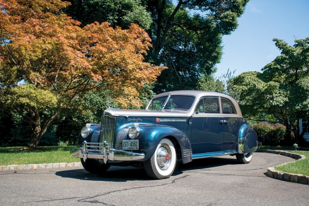 1941 Packard 180 Custom Super Eight Sport Brougham LeBaron cars classic wallpaper