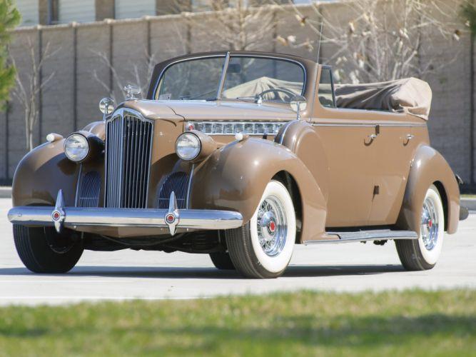 1940 Packard 160 Super Eight Convertible Sedan cars classic wallpaper