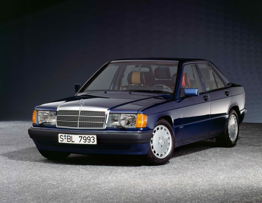 Mercedes-Benz 190E 2 3 Avantgarde Azzurro 1992 wallpaper
