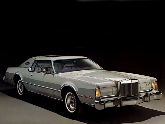Lincoln Continental Mark IV Cartier Edition 1976 wallpaper