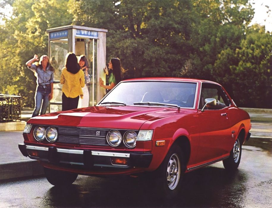 Toyota Celica ST Coupe 1975 wallpaper